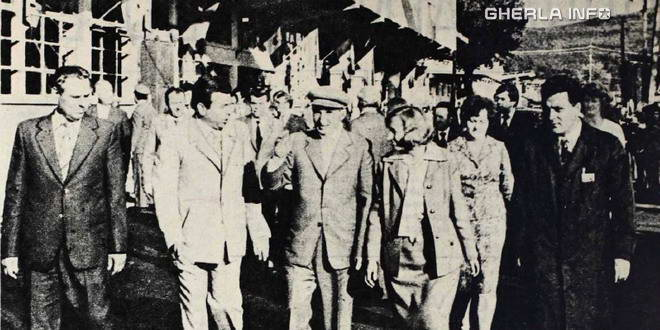 nicolae elena ceausescu vizita gherla combinat sortilemn cpl 1983