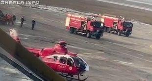 elicopter smurd aeroport cluj pompieri
