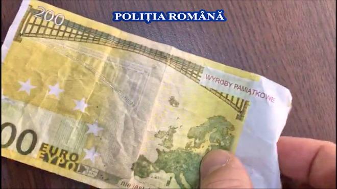 euro fals bancnota fake
