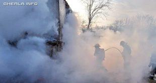 incendiu ocna dej casa pompieri