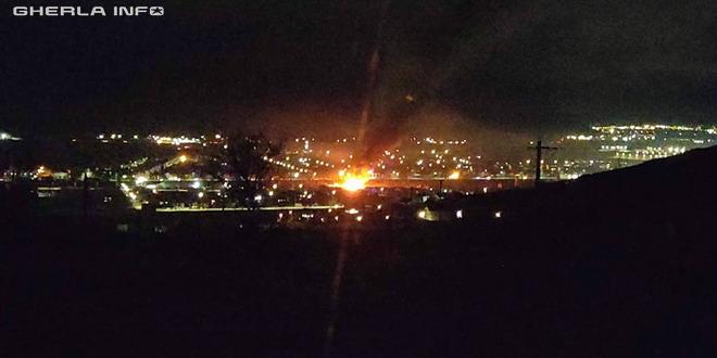 Arde O Casă La Sannicoară Incendiu Cu Flăcări Uriașe Video