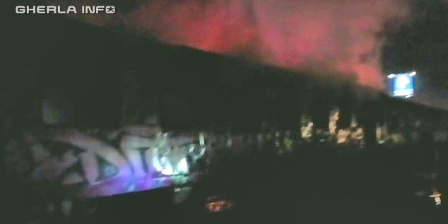 incendiu vagon cluj gara