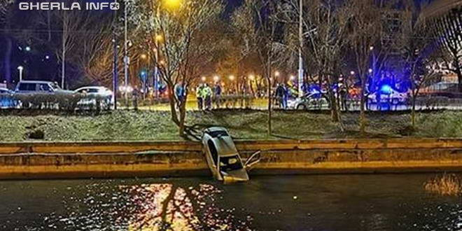 accident cluj masina somes