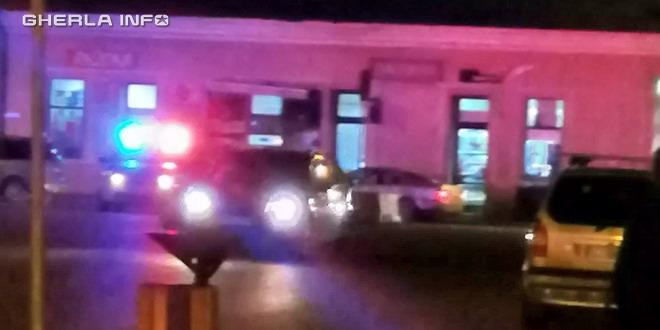 gherla politie autogara noapte