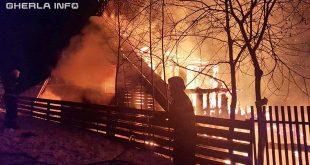 incendiu cabana marisel cluj
