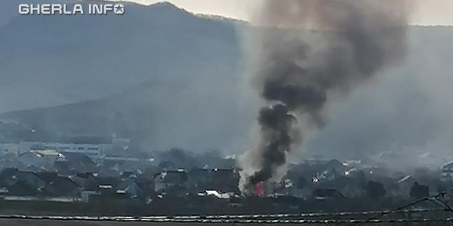 incendiu gherla pescarilor