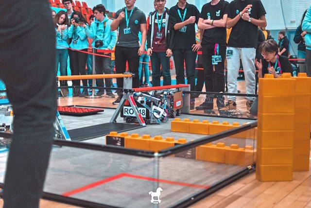 robot concurs cluj