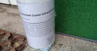 dezinfectant scara bloc
