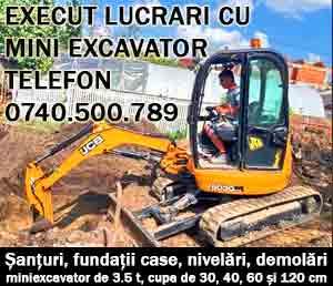excavator excavari gherla dej cluj
