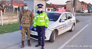 politie armata coronavirus gherla
