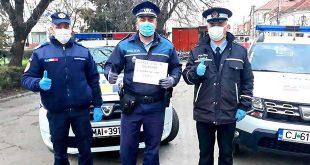 politie gherla coronavirus jandarm