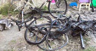 incendiu bicicileta gherla