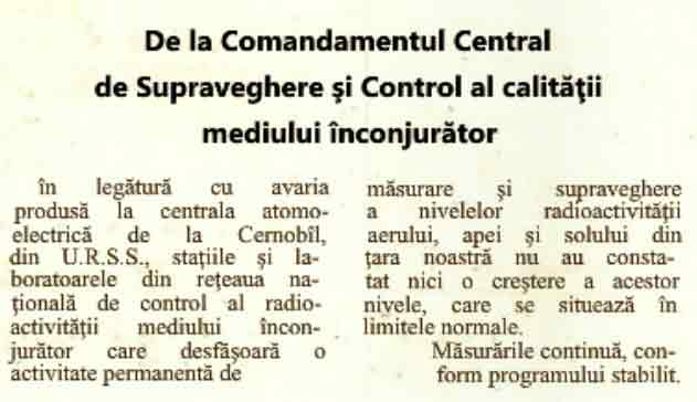 1986 mai 1 ziar cernobil