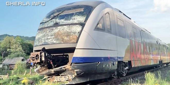 accident tren bucea negreni cluj