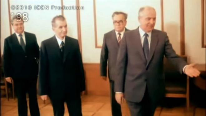 ceausescu gorbaciov 1986 moscova
