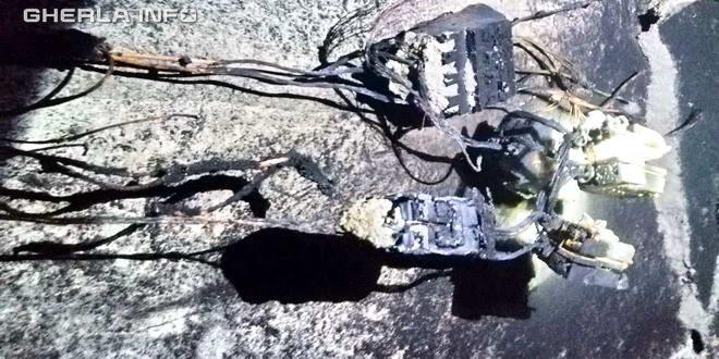 incendiu cabluri electrice tablou