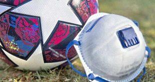 minge fotbal masca balon covid