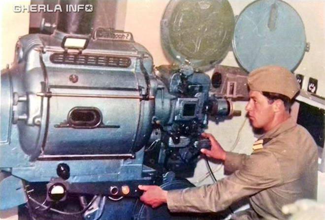 proiectie cinema militar armata