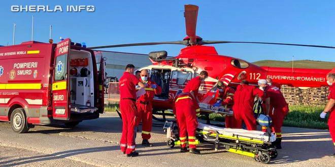 accident boldut ceanu mare elicopter smurd