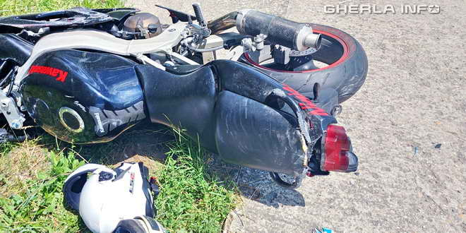 accident motocicleta gherla