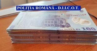 bancnota 100 lei fals