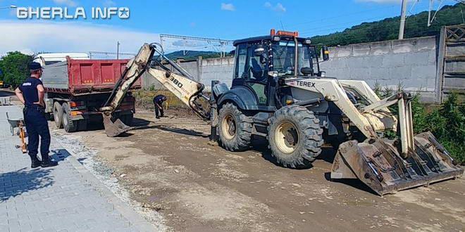 excavator gherla proiectil