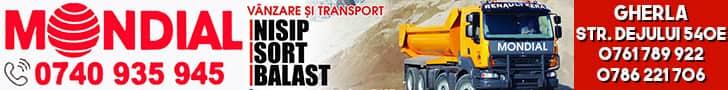 mondial gherla nisip balast transport gherla dej cluj