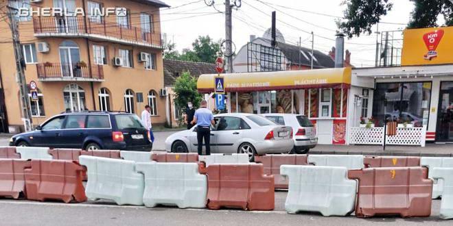 politie control gherla autogara
