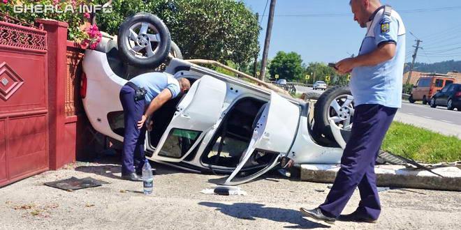 accident fundatura politie