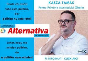 kasza tamas alegeri locale primar candidat 2020 gherla