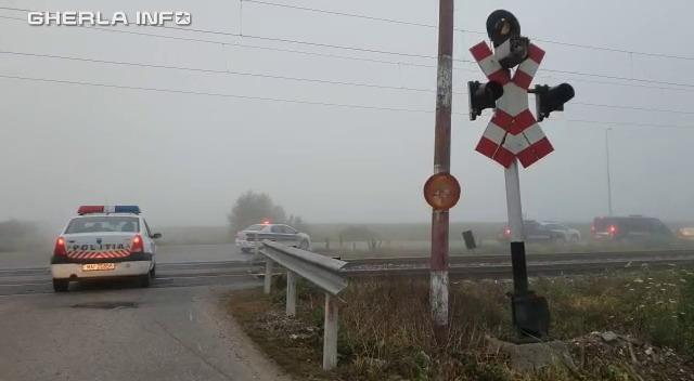 politie cale ferata bariera