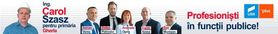 usr plus gherla alegeri locale 2020 candidat