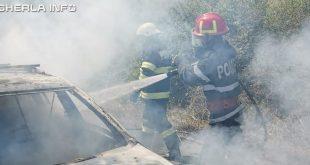 incendiu masina pompieri gadalin visea