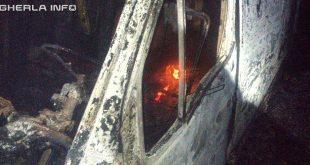 incendiu masina sucutard