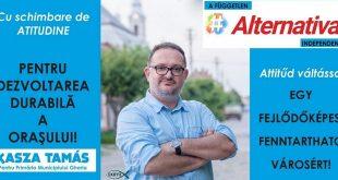 kasza tamas gherla szamosujvar candidat primar polgarmester alegeri locale 2020