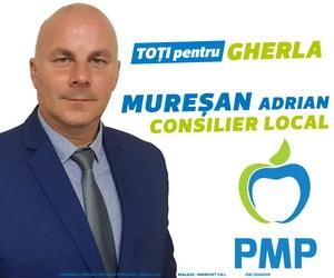 pmp  muresan adrian alegeri locale gherla consilier 2020