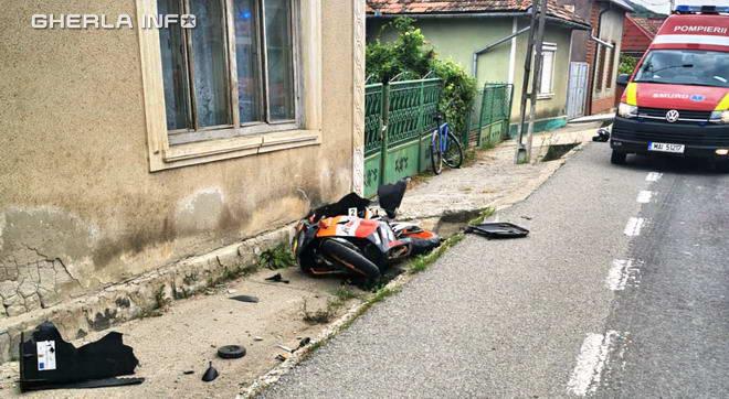 accident reteag motocicleta