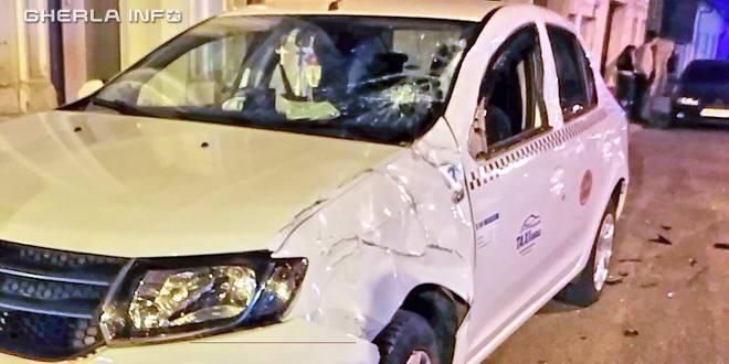 accident taxi autohgara gherla