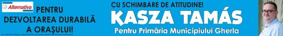 kasza tamas alegeri locale gherla primar 2020