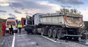 accident izvoru crisului cluj camion