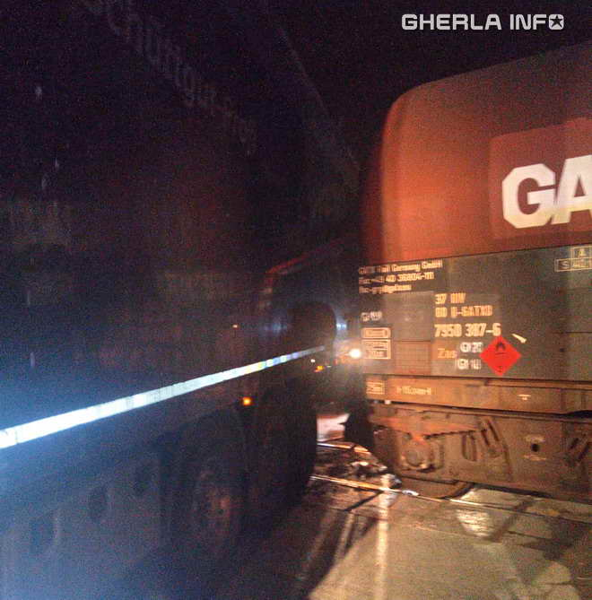 accident trne camion cluj