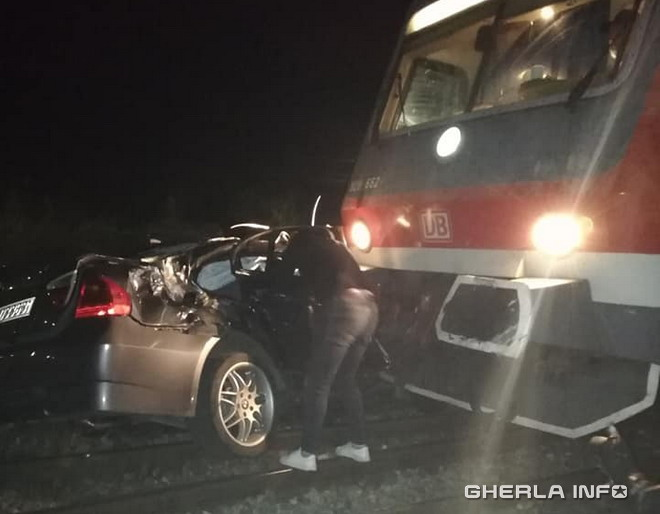 accident tren jucu bmw