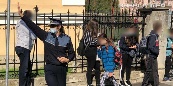 politie copii covid