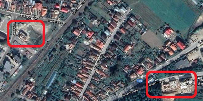 gherla google earth