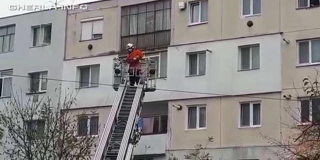 gherla pompier scara