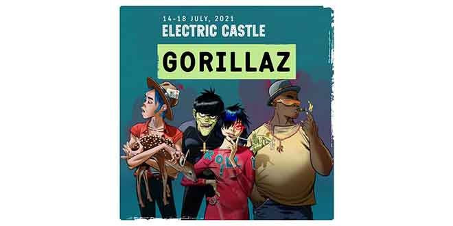 gorillaz electric castle bontida 2021