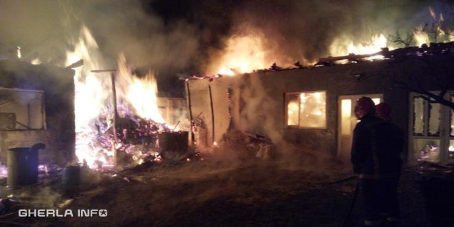 incendiu casa fizesu gherlii