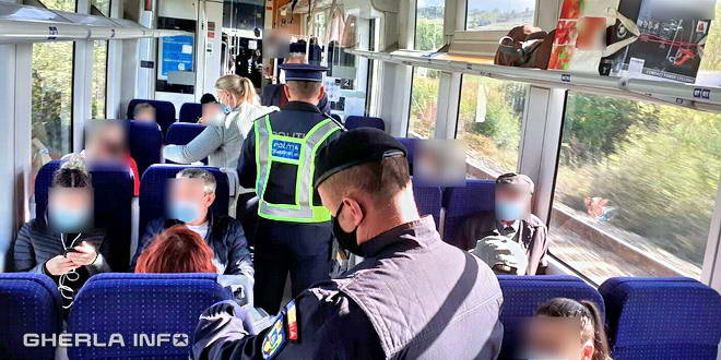 politie covid tren control