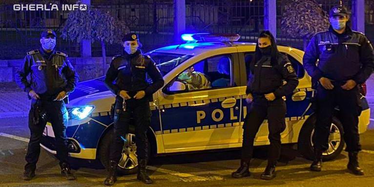 politie jandarmerie cluj noapte