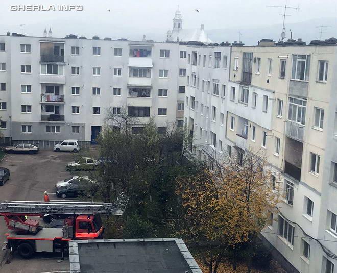 pompieri gherla bloc